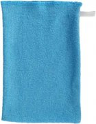 Blue washcloth single-faced terry | - detskedeky.cz