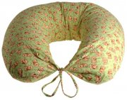 Nursing pillow slipcover green dogs | - detskedeky.cz