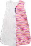 Summer sleeping bag pink stripes 120 cm | - detskedeky.cz