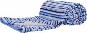 Cotton summer blanket blue stripes | - detskedeky.cz