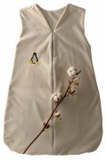 Sleeping Bag Organic Cotton with Penguin 110 cm | - detskedeky.cz