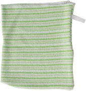Washcloth green stripes | - detskedeky.cz