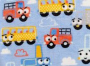 Flannel fleece blanket cars 70x100cm | - detskedeky.cz