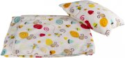 Large blanket with a pillow snails | - detskedeky.cz