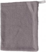 Grey washcloth single-faced terry | - detskedeky.cz