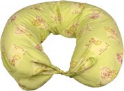 Nursing pillow flannel green babies | - detskedeky.cz