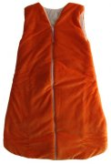 Sleeping bag orange 120 cm | - detskedeky.cz