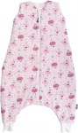 Sleeping bag with legs 100 cm pink ballerinas