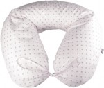 Nursing pillow slipcover grey stars
