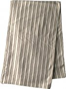 Bamboo blanket brown and beige stripes 100 x 135 cm | - detskedeky.cz