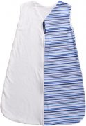 Summer sleeping bag blue stripes 120 cm | - detskedeky.cz