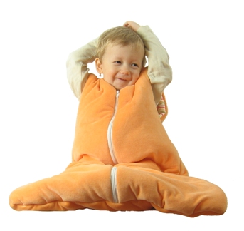 sleeping bag with baby