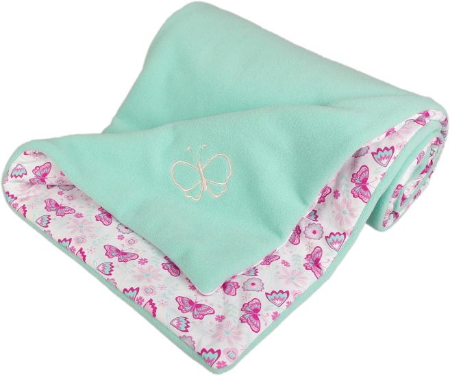 menthol baby blanket butterfly