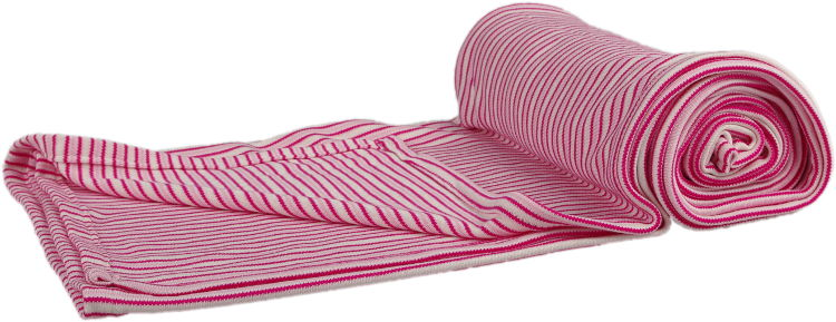 pink baby bamboo blanket