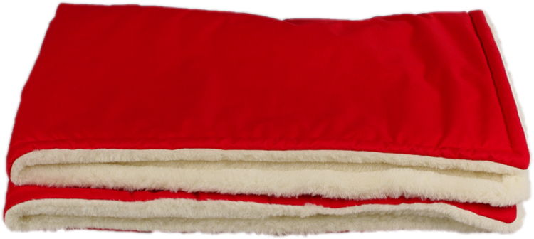 red merino blanket