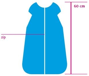 sleeping bag length 60 cm