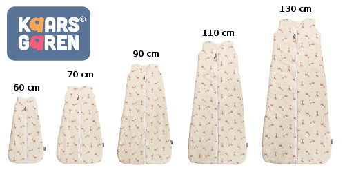 organic cotton sleeping bags with giraffes